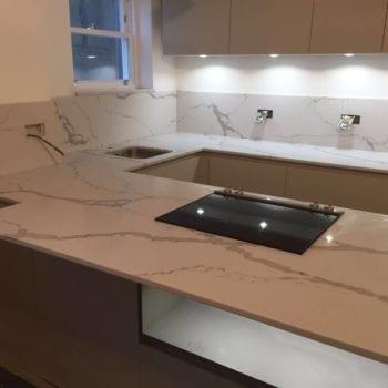 Marble Kitchen Worktops