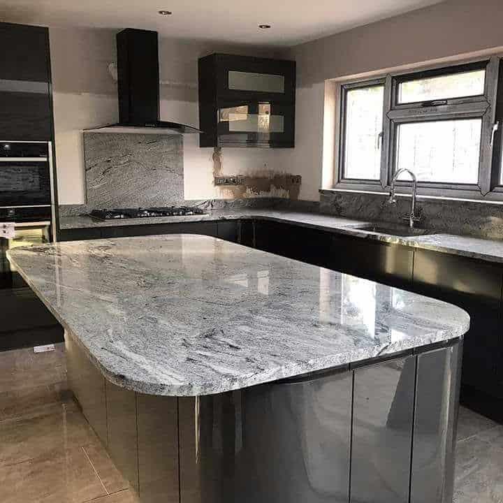 Natural stone worktops, granite countertops