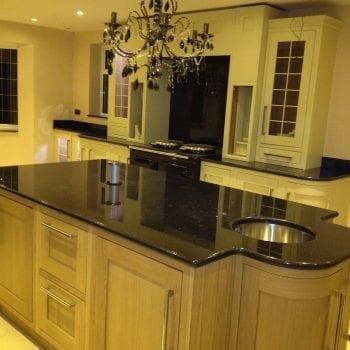 black granite worktops Kent, granite in Kent