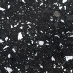 black flecks quartz worktops