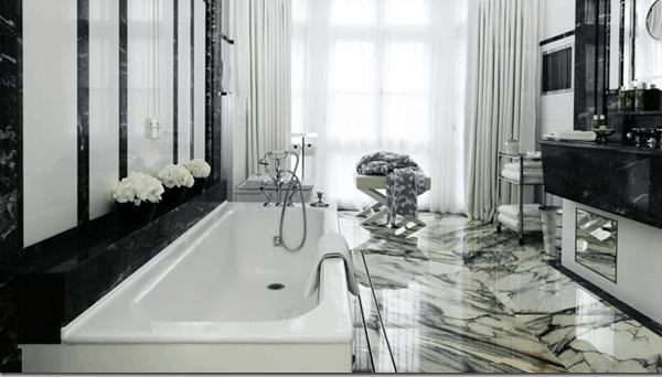 marble floors kent