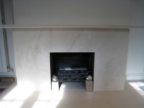 limestone-fireplace-london, stone fireplace