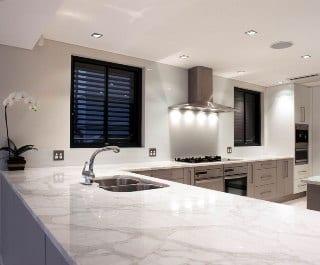 marble quartz worktop