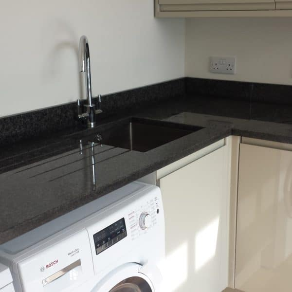 absolute black granite worktops