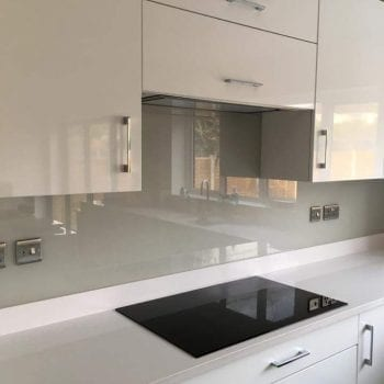 glass splashback in Kent and London