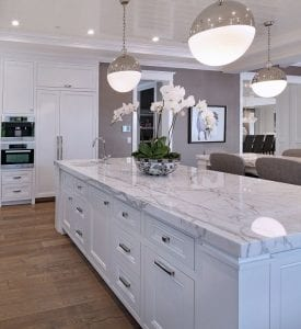 Marble dining table, marble worktops, marble kitchen worktops