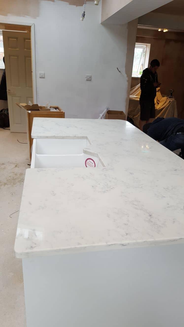 Carrara Quartz V Calacatta Quartz Palazzostone