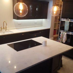 Bexleyheath quartz worktops kitchen palazzo stone