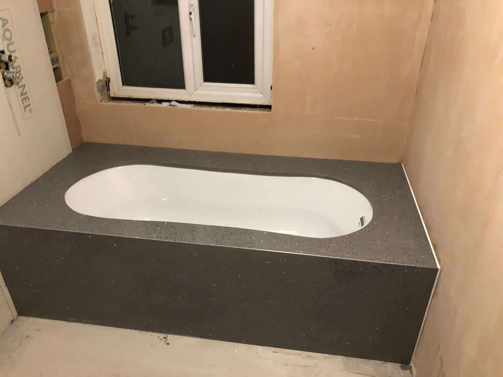 bath surround marble