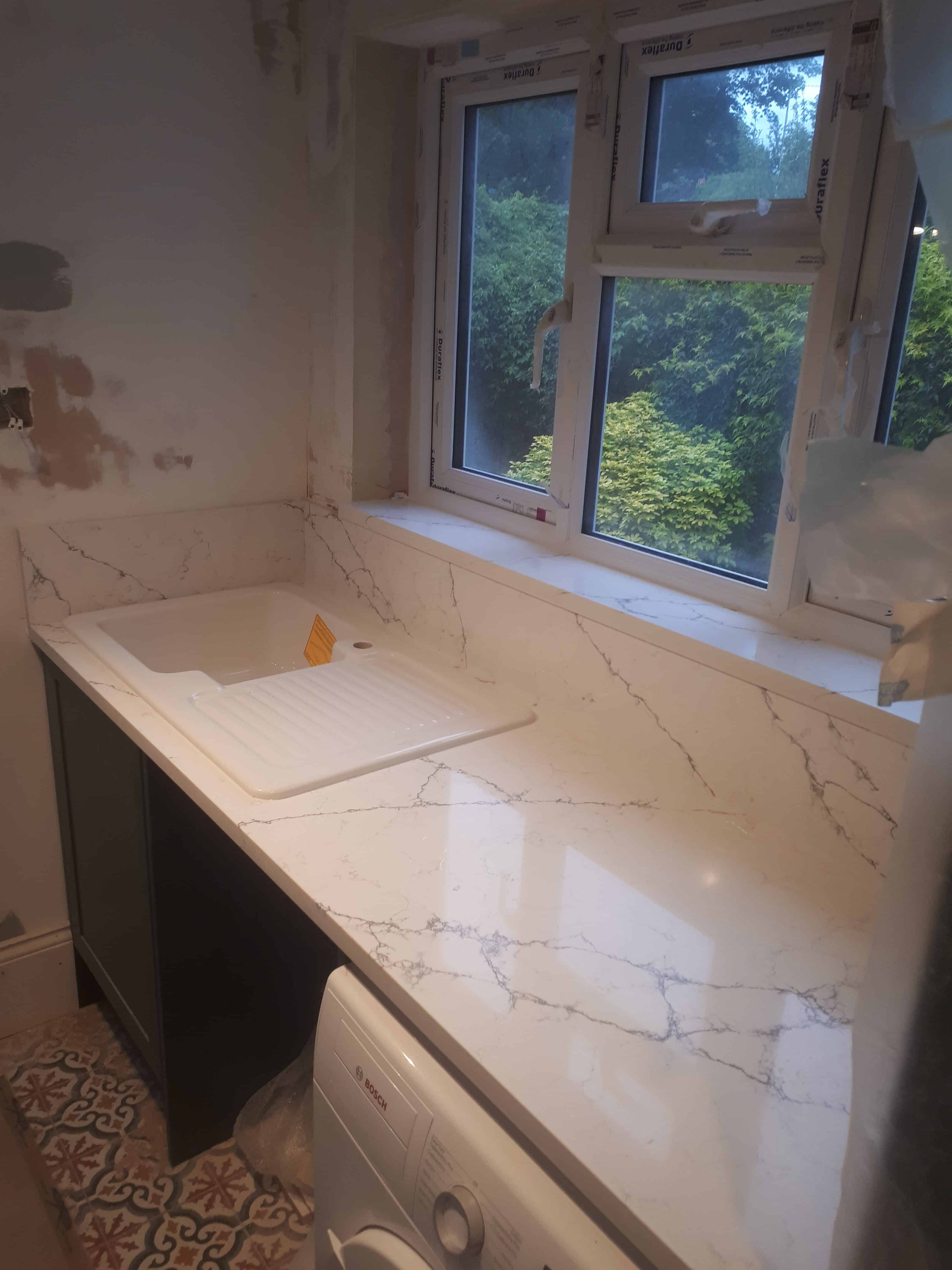 Alaska Bianco, quartz vs granite, Alaska quartz worktops