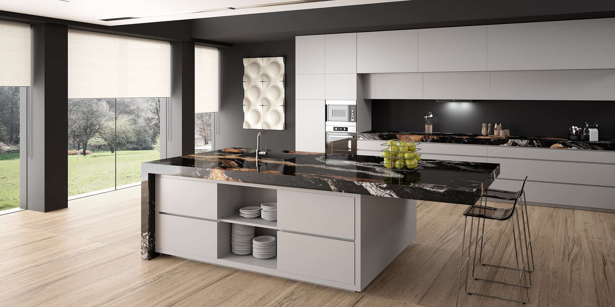 2019 Kitchen Granite Countertops Trends Palazzostone