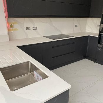 composite quartz worktop